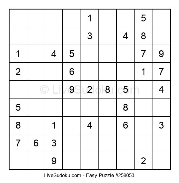 Beginners Puzzle #258053