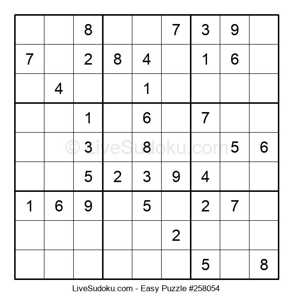 Beginners Puzzle #258054