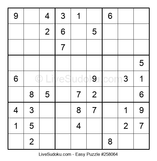 Beginners Puzzle #258064