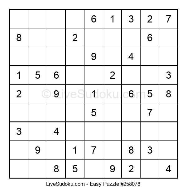 Beginners Puzzle #258078