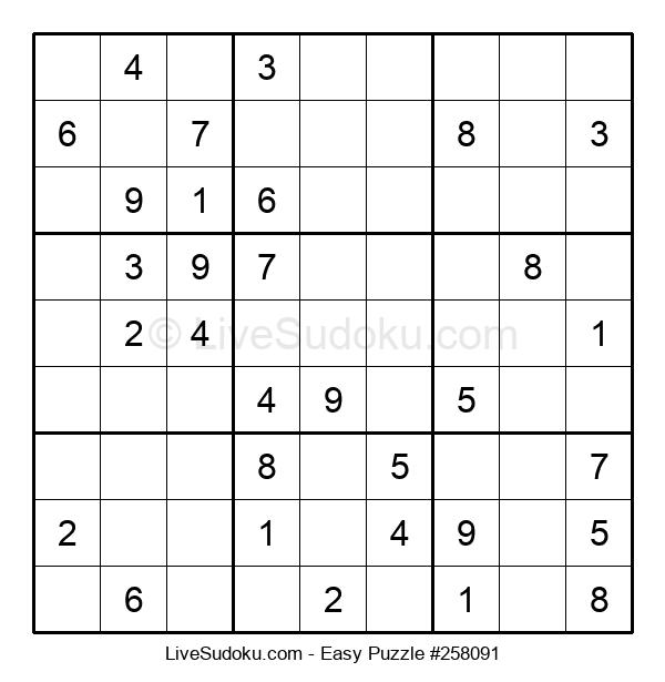 Beginners Puzzle #258091