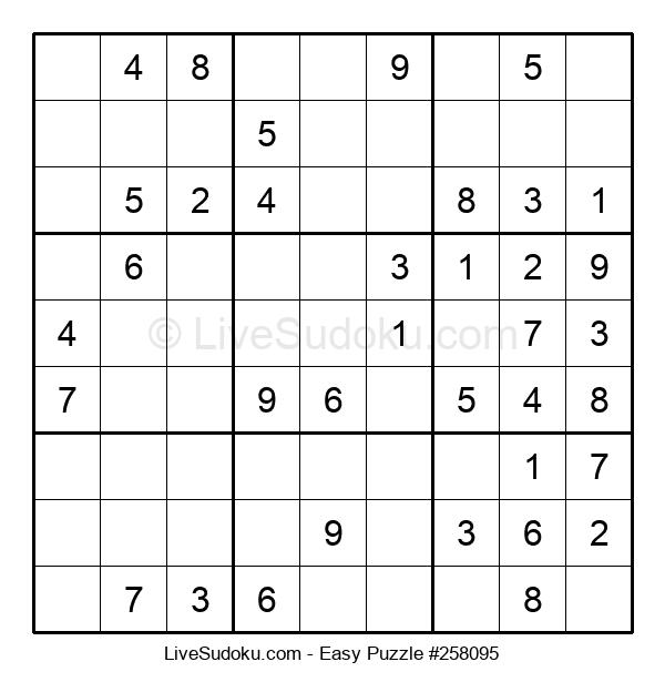 Beginners Puzzle #258095