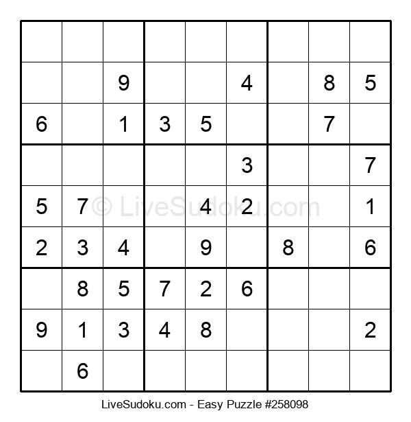 Beginners Puzzle #258098
