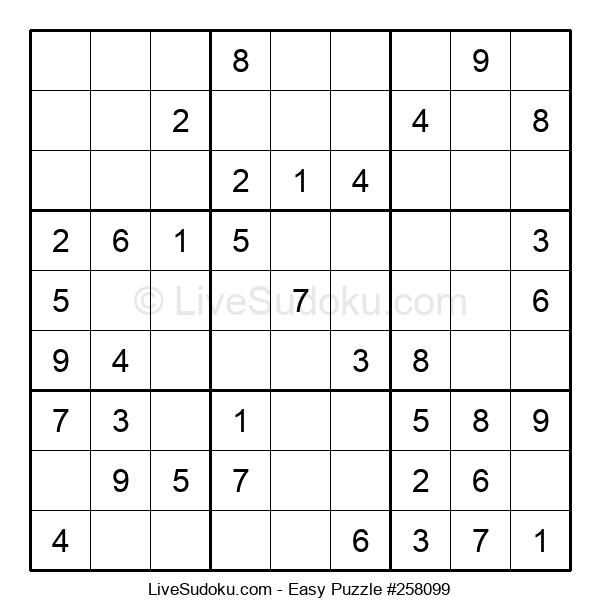 Beginners Puzzle #258099