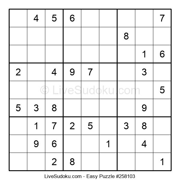 Beginners Puzzle #258103
