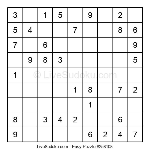 Beginners Puzzle #258108