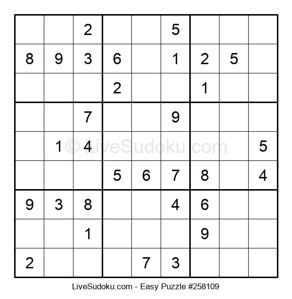 Beginners Puzzle #258109