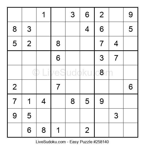 Beginners Puzzle #258140