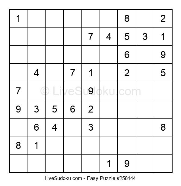 Beginners Puzzle #258144