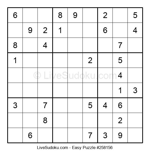 Beginners Puzzle #258156