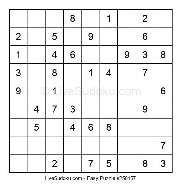 Beginners Puzzle #258157