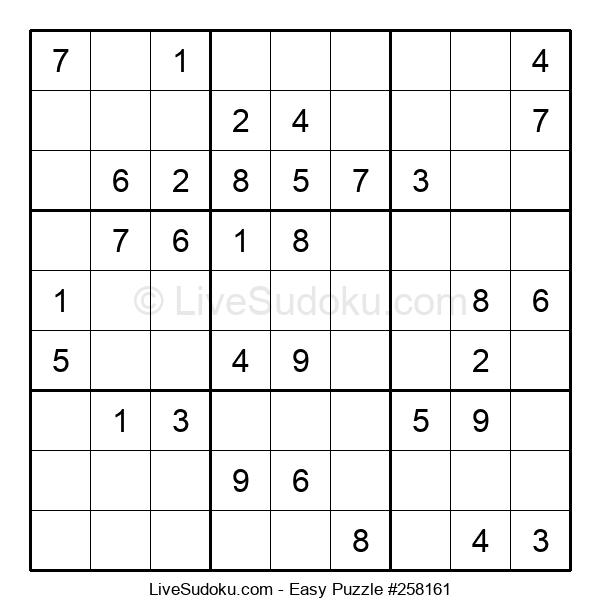 Beginners Puzzle #258161