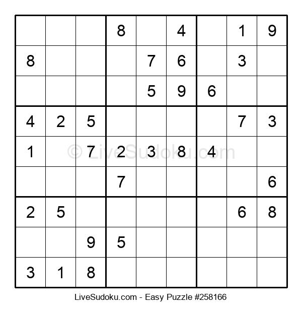 Beginners Puzzle #258166