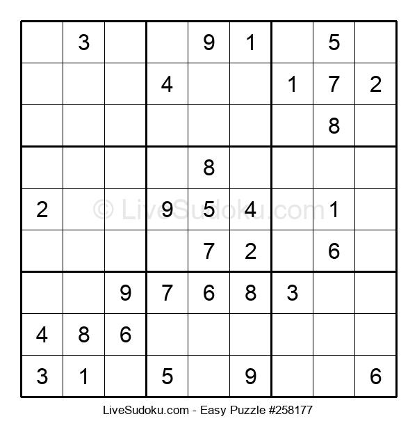 Beginners Puzzle #258177