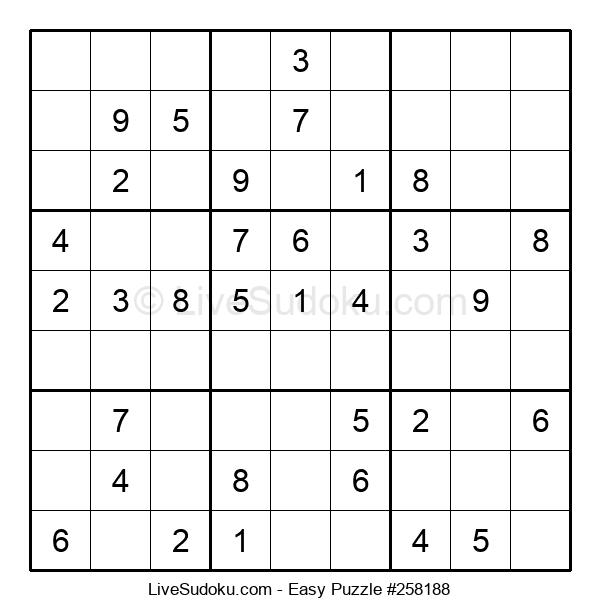 Beginners Puzzle #258188