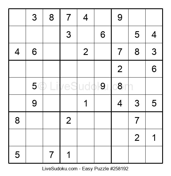 Beginners Puzzle #258192