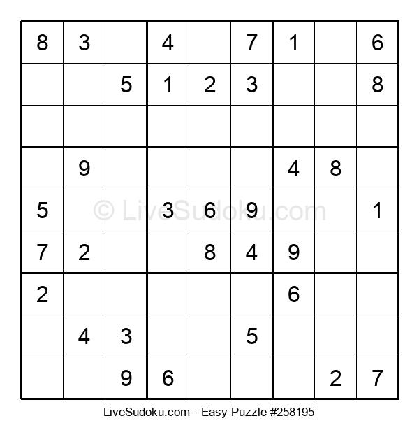 Beginners Puzzle #258195