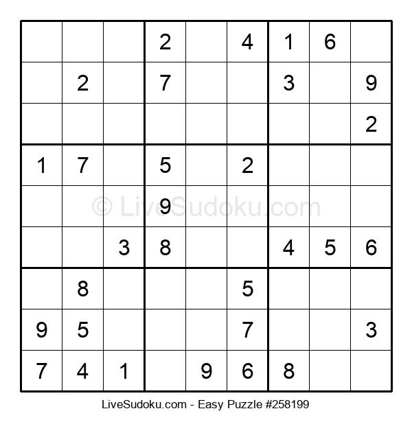 Beginners Puzzle #258199