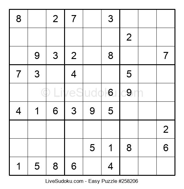 Beginners Puzzle #258206