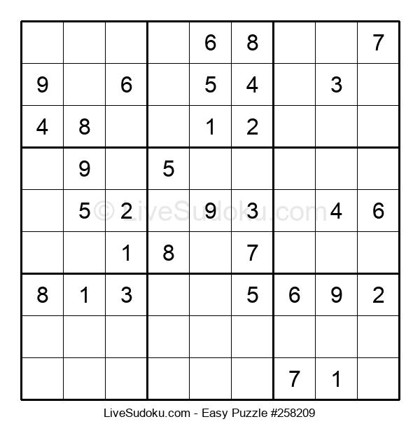Beginners Puzzle #258209