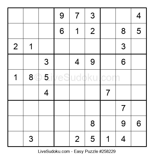 Beginners Puzzle #258229