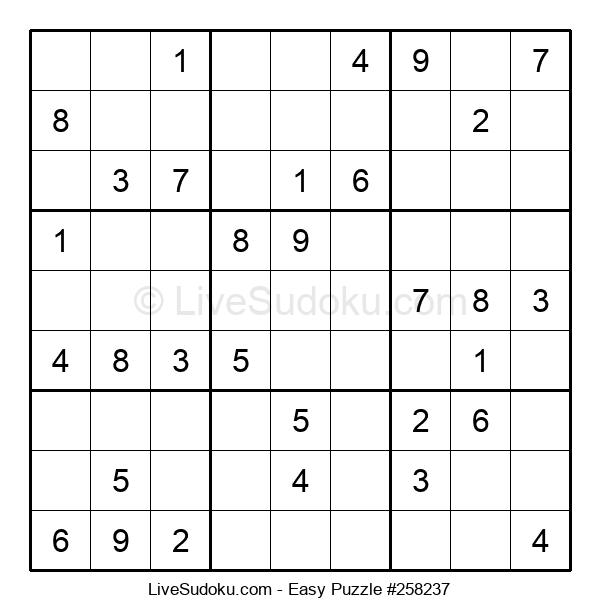 Beginners Puzzle #258237