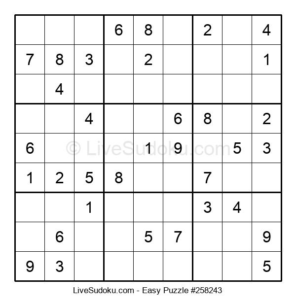 Beginners Puzzle #258243