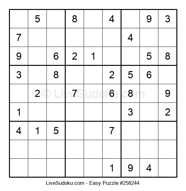 Beginners Puzzle #258244