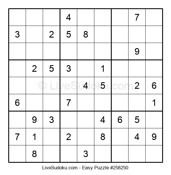 Beginners Puzzle #258250