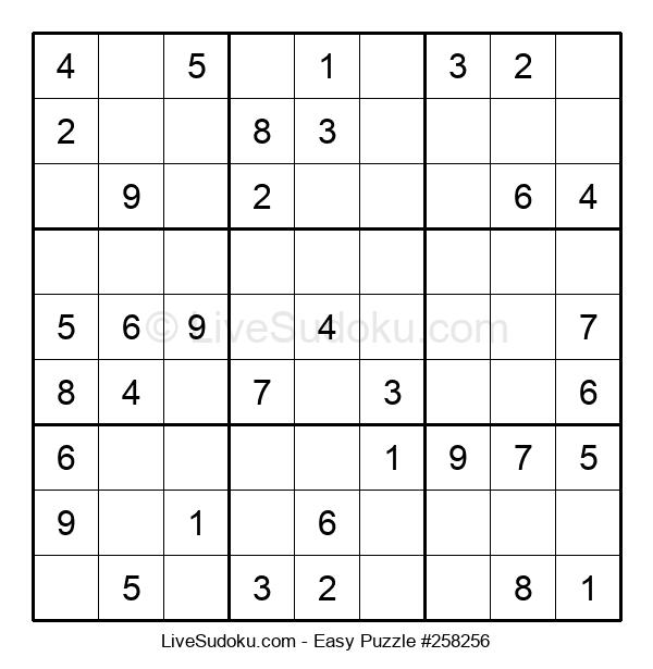 Beginners Puzzle #258256