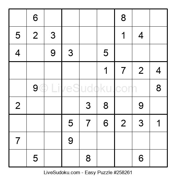 Beginners Puzzle #258261