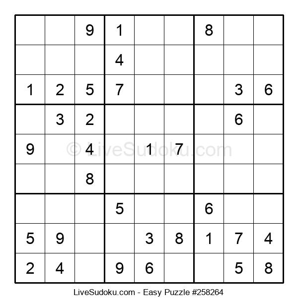 Beginners Puzzle #258264