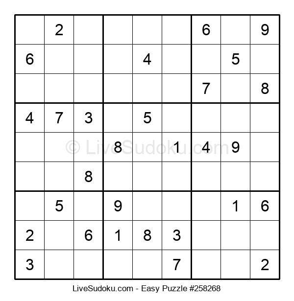 Beginners Puzzle #258268