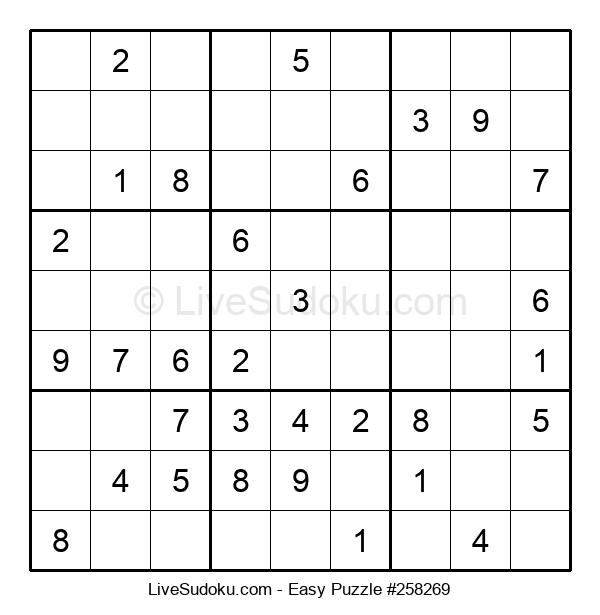 Beginners Puzzle #258269