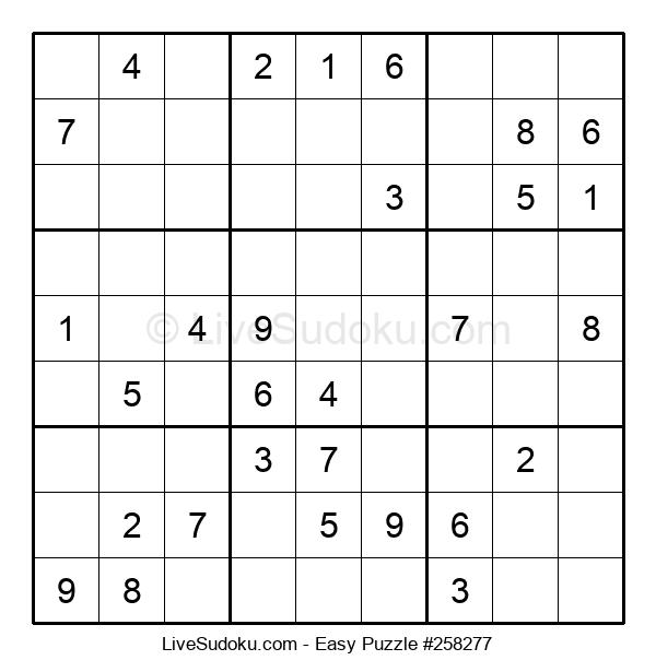Beginners Puzzle #258277