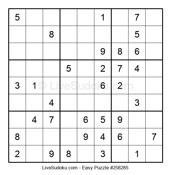 Beginners Puzzle #258285