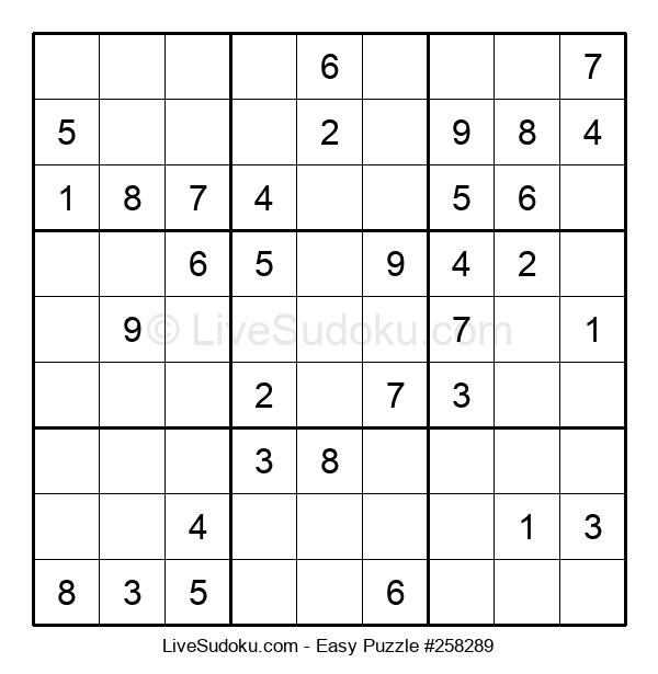 Beginners Puzzle #258289
