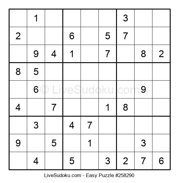 Beginners Puzzle #258290