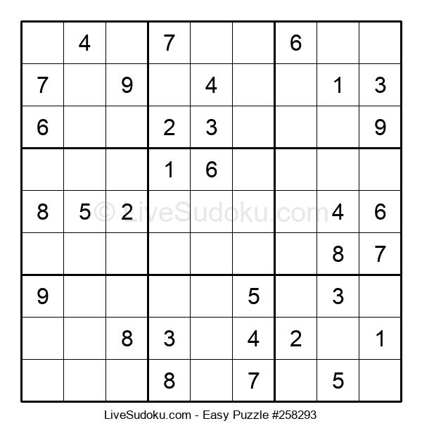 Beginners Puzzle #258293