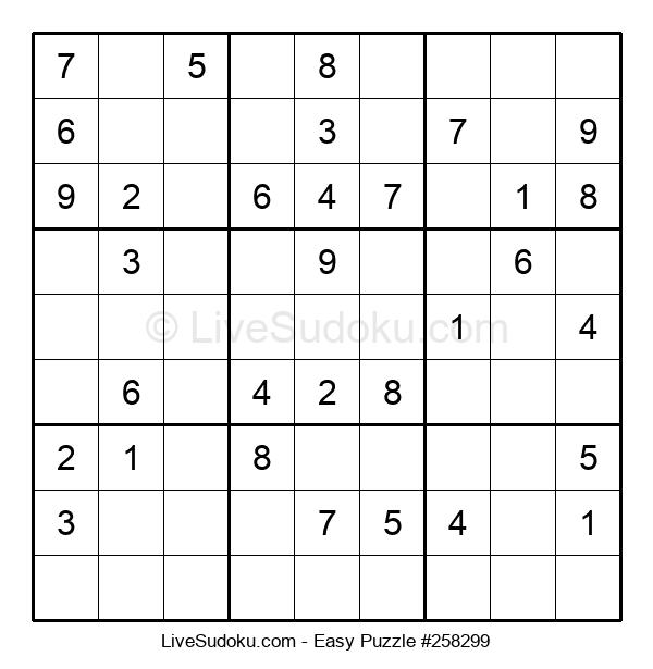Beginners Puzzle #258299