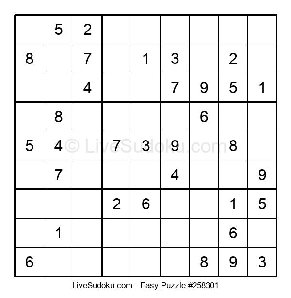 Beginners Puzzle #258301