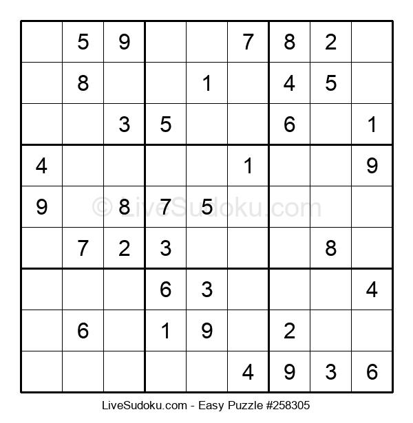 Beginners Puzzle #258305