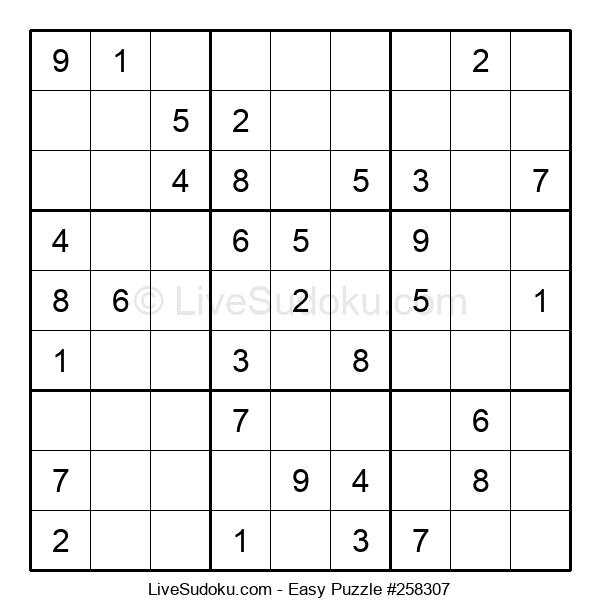 Beginners Puzzle #258307