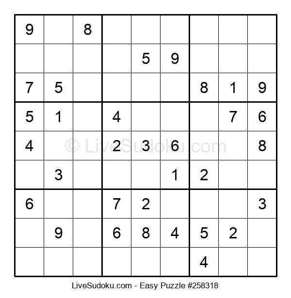 Beginners Puzzle #258318