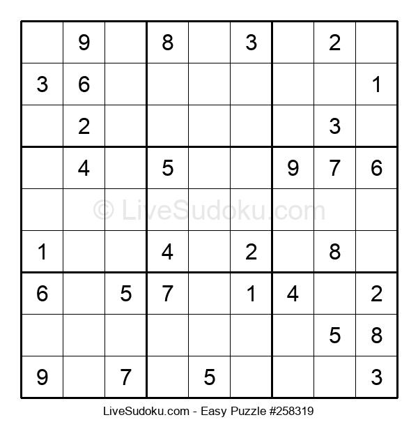 Beginners Puzzle #258319