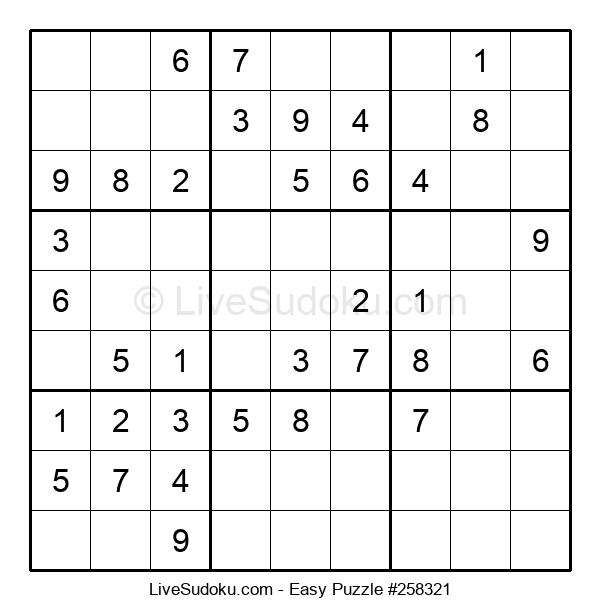 Beginners Puzzle #258321