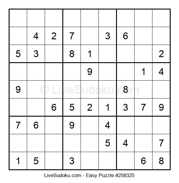 Beginners Puzzle #258325