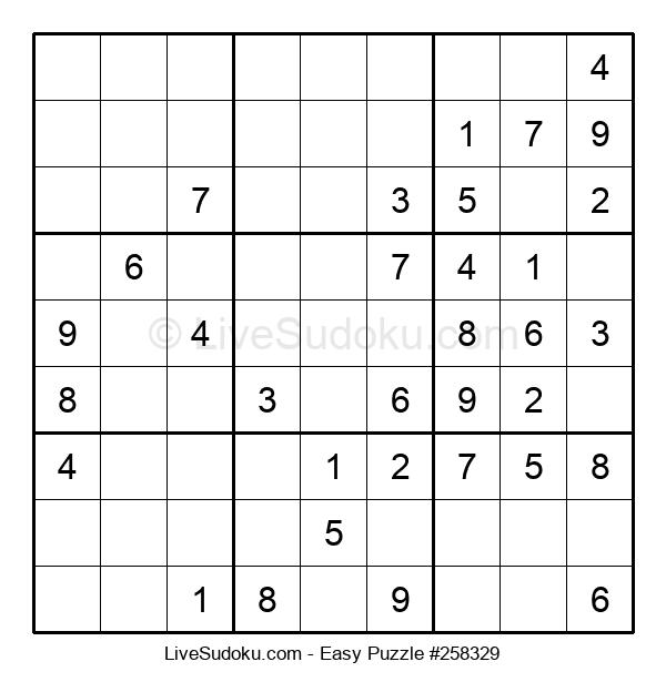 Beginners Puzzle #258329