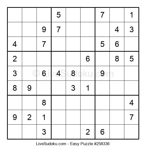 Beginners Puzzle #258336