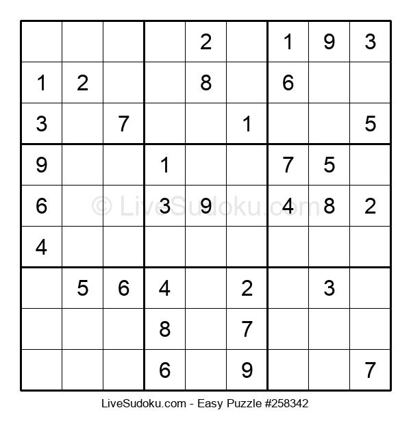 Beginners Puzzle #258342